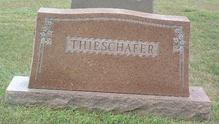 THIESCHAFER, FAMILY HEADSTONE - Mills County, Iowa | FAMILY HEADSTONE THIESCHAFER