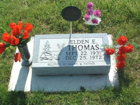 THOMAS, ELDEN E. - Mills County, Iowa | ELDEN E. THOMAS