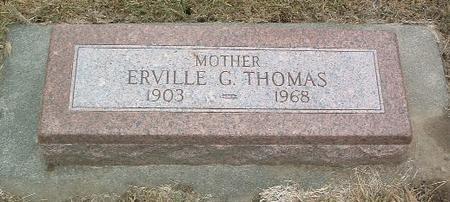 THOMAS, ERVILLE G. - Mills County, Iowa | ERVILLE G. THOMAS