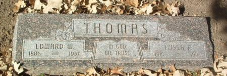 THOMAS, TWYLA F. - Mills County, Iowa | TWYLA F. THOMAS