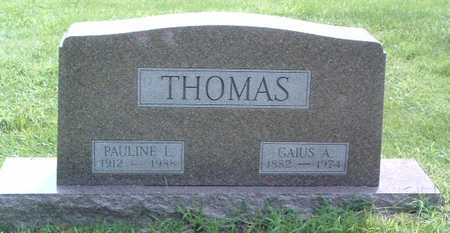 THOMAS, GAIUS ALPHA - Mills County, Iowa | GAIUS ALPHA THOMAS