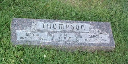 THOMPSON, BIRD W. - Mills County, Iowa | BIRD W. THOMPSON
