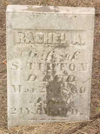 TIPTON, RACHEL A. - Mills County, Iowa | RACHEL A. TIPTON