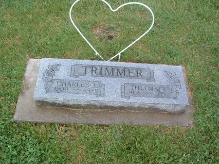 TRIMMER, THELMA - Mills County, Iowa | THELMA TRIMMER