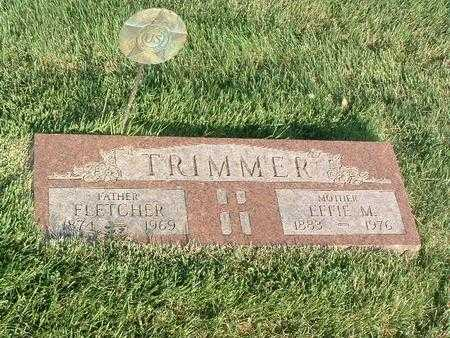 TRIMMER, EFFIE M. - Mills County, Iowa | EFFIE M. TRIMMER