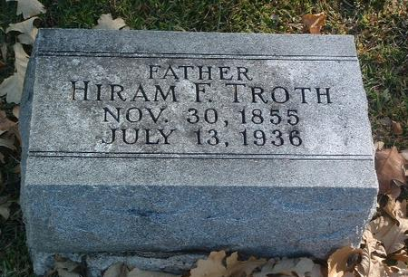 TROTH, HIRAM F. - Mills County, Iowa | HIRAM F. TROTH