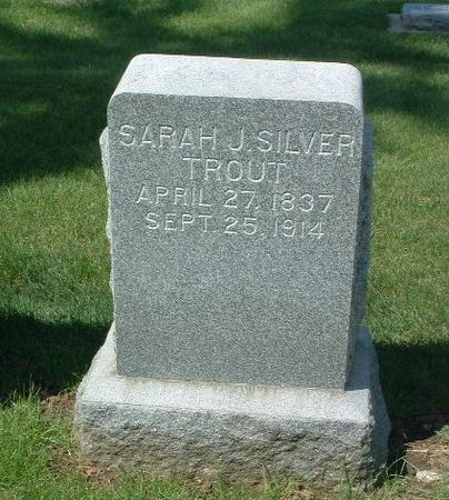 TROUT, SARAH J. - Mills County, Iowa | SARAH J. TROUT