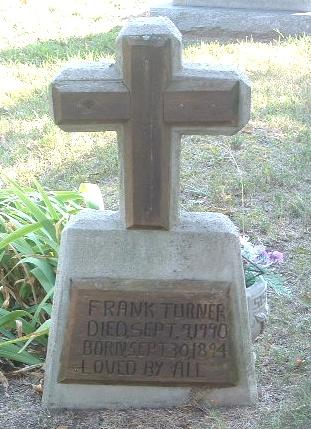 TURNER, FRANK - Mills County, Iowa | FRANK TURNER