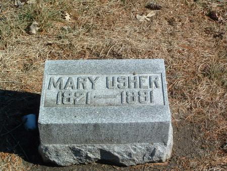 USHER, MARY - Mills County, Iowa | MARY USHER