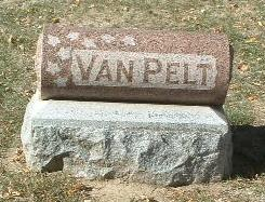 VAN PELT, FAMILY HEADSTONE - Mills County, Iowa | FAMILY HEADSTONE VAN PELT