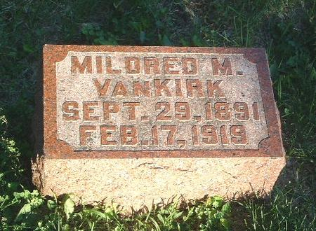 VANKIRK, MILDRED M. - Mills County, Iowa | MILDRED M. VANKIRK