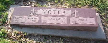 WATKINS VOTEK, PHOEBE A. - Mills County, Iowa | PHOEBE A. WATKINS VOTEK