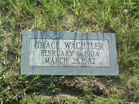WACHTLER, GRACE - Mills County, Iowa | GRACE WACHTLER