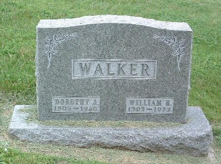WALKER, WILLIAM H. - Mills County, Iowa | WILLIAM H. WALKER