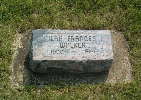 WALKER, ILAH FRANCES - Mills County, Iowa | ILAH FRANCES WALKER