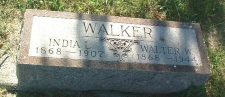WALKER, WALTER W. - Mills County, Iowa | WALTER W. WALKER