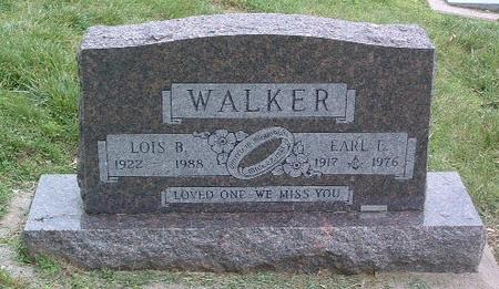 WALKER, EARL E. - Mills County, Iowa | EARL E. WALKER