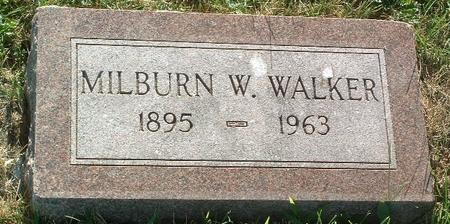 WALKER, MILBURN W. - Mills County, Iowa | MILBURN W. WALKER
