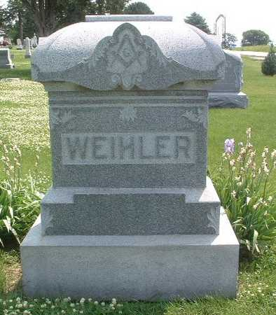 WEIHLER, HEADSTONE - Mills County, Iowa | HEADSTONE WEIHLER
