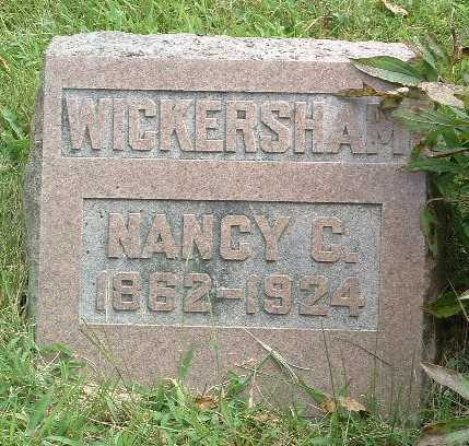 WICKERSHAM, NANCY C. - Mills County, Iowa | NANCY C. WICKERSHAM