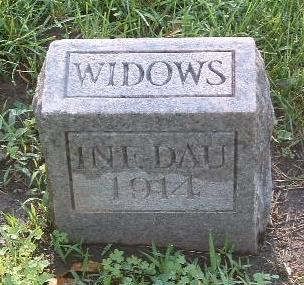 WIDOWS, INFANT DAUGHTER - Mills County, Iowa | INFANT DAUGHTER WIDOWS