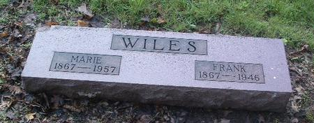WILES, MARIE - Mills County, Iowa | MARIE WILES