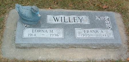WILLEY, LORNA M. - Mills County, Iowa | LORNA M. WILLEY