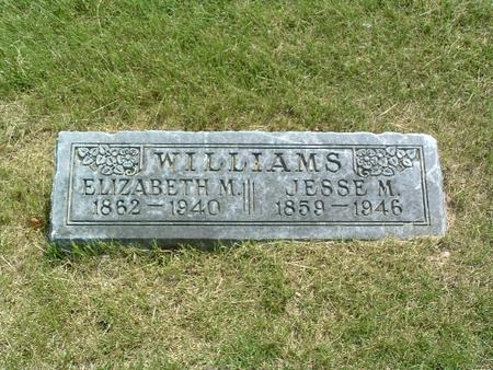 WILLIAMS, ELIZABETH M. - Mills County, Iowa | ELIZABETH M. WILLIAMS