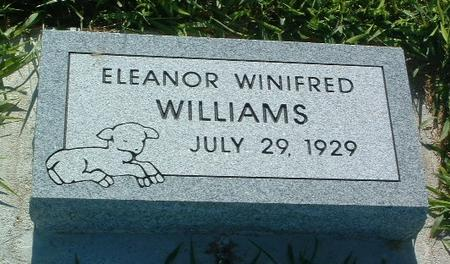 WILLIAMS, ELEANOR WINIFRED - Mills County, Iowa | ELEANOR WINIFRED WILLIAMS
