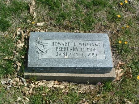 WILLIAMS, HOWARD E. - Mills County, Iowa | HOWARD E. WILLIAMS