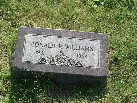 WILLIAMS, RONALD R. - Mills County, Iowa   RONALD R. WILLIAMS