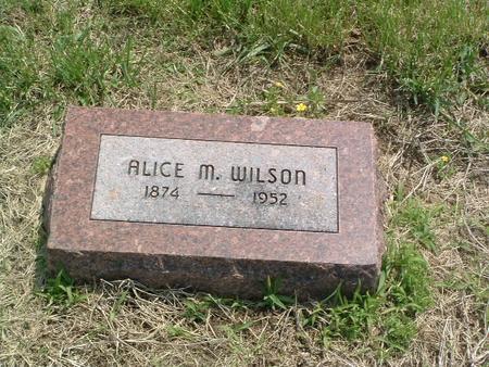 WILSON, ALICE M. - Mills County, Iowa | ALICE M. WILSON