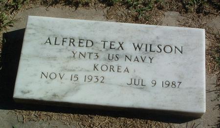 WILSON, ALFRED TEX - Mills County, Iowa | ALFRED TEX WILSON