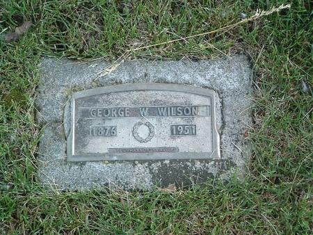 WILSON, GEORGE - Mills County, Iowa   GEORGE WILSON