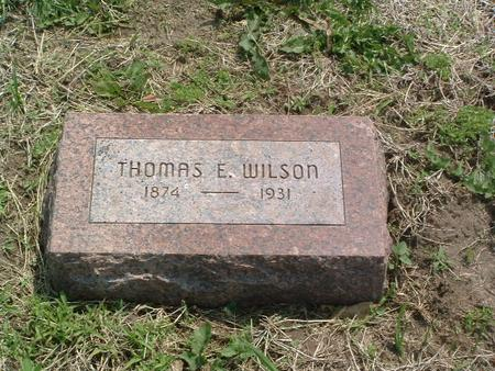WILSON, THOMAS E. - Mills County, Iowa | THOMAS E. WILSON