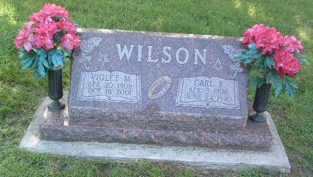 WILSON, VIOLET M. - Mills County, Iowa | VIOLET M. WILSON