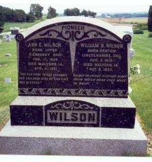 WILSON, WILLIAM BOOTH - Mills County, Iowa | WILLIAM BOOTH WILSON