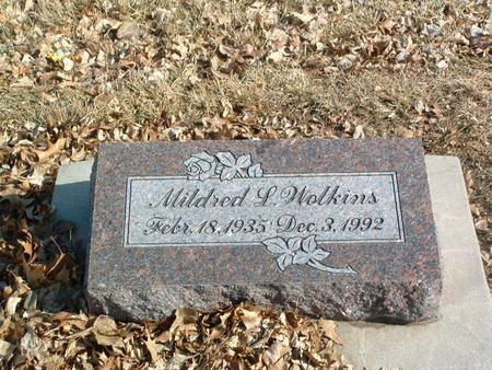 WOLKINS, MILDRED L. - Mills County, Iowa | MILDRED L. WOLKINS