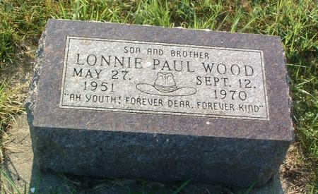 WOOD, LONNIE PAUL - Mills County, Iowa | LONNIE PAUL WOOD