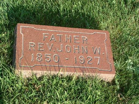 WRIGHT, JOHN W. - Mills County, Iowa | JOHN W. WRIGHT