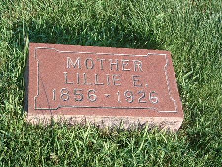 WRIGHT, LILLIE E. - Mills County, Iowa | LILLIE E. WRIGHT