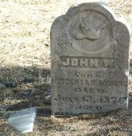 YOUNG, JOHN W. - Mills County, Iowa | JOHN W. YOUNG