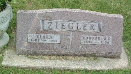 ZIEGLER, KLARA - Mills County, Iowa | KLARA ZIEGLER