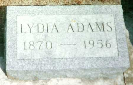 GAST ADAMS, LYDIA - Mitchell County, Iowa | LYDIA GAST ADAMS