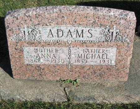 ADAMS, MICHAEL - Mitchell County, Iowa | MICHAEL ADAMS