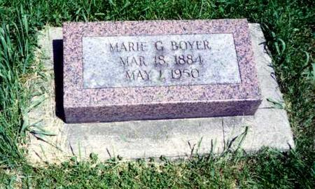 BOYER, ELLEN MARIA - Mitchell County, Iowa | ELLEN MARIA BOYER