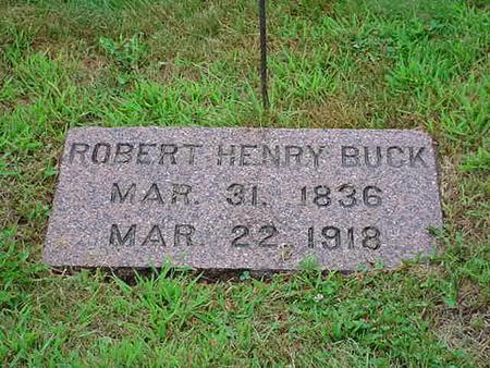 BUCK, ROBERT HENRY - Mitchell County, Iowa | ROBERT HENRY BUCK