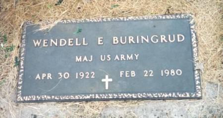 BURINGRUD, WENDELL EUGENE - Mitchell County, Iowa | WENDELL EUGENE BURINGRUD