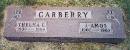 CARBERRY, JOHN AMOS - Mitchell County, Iowa | JOHN AMOS CARBERRY