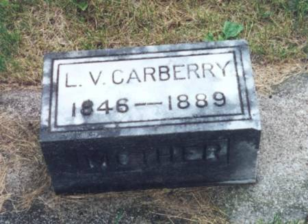CARBERRY, LUCY VIRGINIA - Mitchell County, Iowa | LUCY VIRGINIA CARBERRY